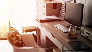 darbo kambario baldai interjeras klasikiniai