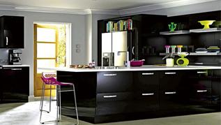 juodi virtuviniai baldai, kaina, akcija, vilniuje