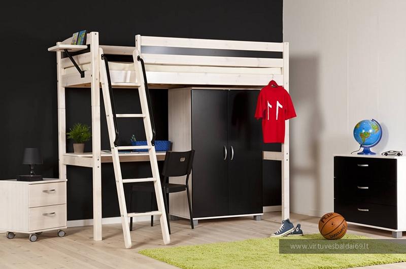vaiku-jaunuolio-kambario-baldai-dviaukstes-lovos-komodos