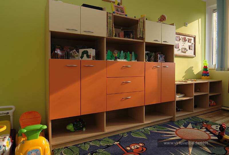 vaiku-darzelio-baldai-spinteles-kainos-klaipeda